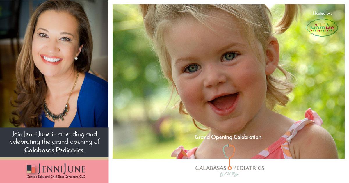 9/13 – Join Jenni June at the Grand Opening of Calabasas Pediatrics