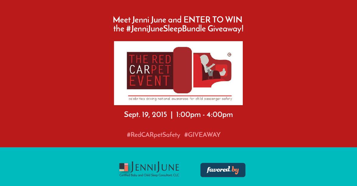 9/19 – Visit Jenni June at the RedCARpet Celebrity Safety Event
