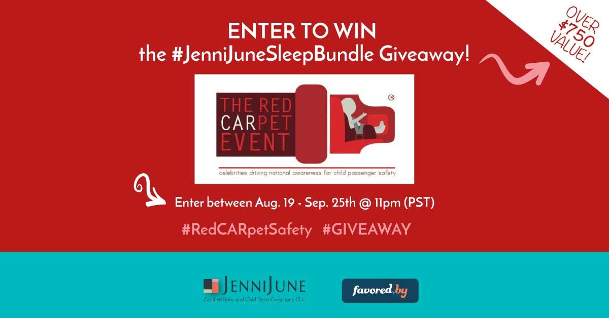 #RedCARpetSafety #JenniJuneSleepBundle GIVEAWAY!!