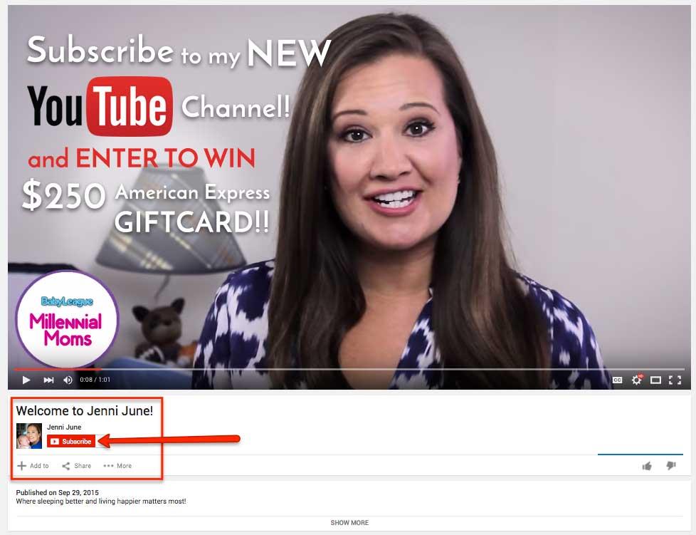 NEW Jenni June YouTube Channel