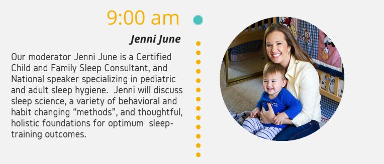 "3/31/18 – Jenni June Talks ""Sleep"" at The Breathe Institute Sleep Medicine Course"